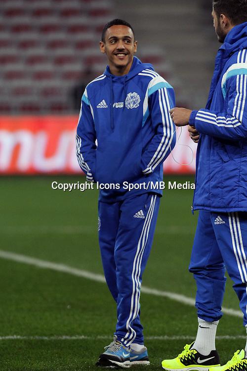 Bilel BOUTOBBA  - 23.01.2015 - Nice / Marseille - 22eme journee de Ligue 1<br />Photo : Jean Christophe Magnenet / Icon Sport