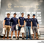 GC32 TPM Med Cup Toulon, France.  Pedro Martinez / GC32 Racing Tour. 14 October, 2018.<span>Sailing Energy / GC32 Sailing Tour</span>