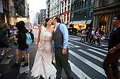 Wedding Photojournalism: Morgan & Barry's Rooftop Wedding at the Scholastic Building
