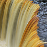 &quot;Flow of Golden Ribbons&quot;<br /> <br /> Enjoy the sheer beauty and color in streaming ribbons of Tahquamenon Falls!!<br /> <br /> Waterfalls by Rachel Cohen