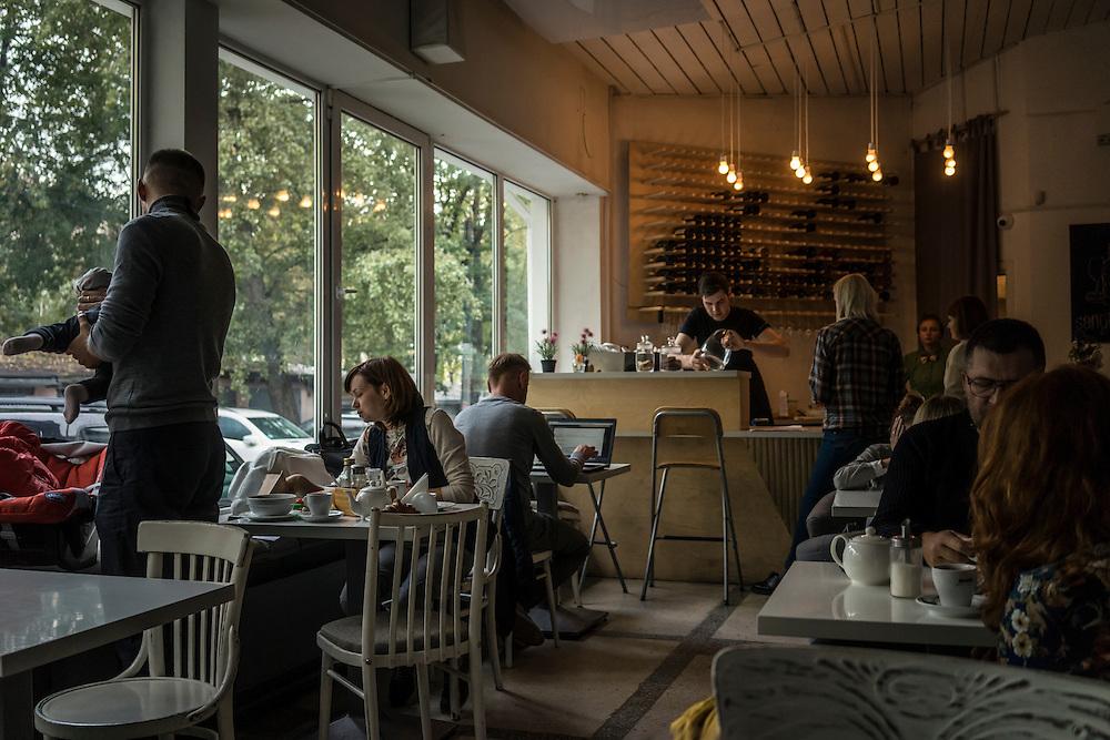Y cafe on Thursday, September 22, 2016 in Minsk, Belarus.