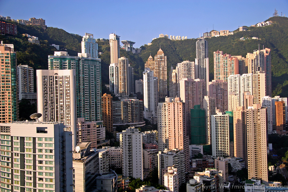 Asia, China, Hong Kong. Cityscape of Hong Kong.