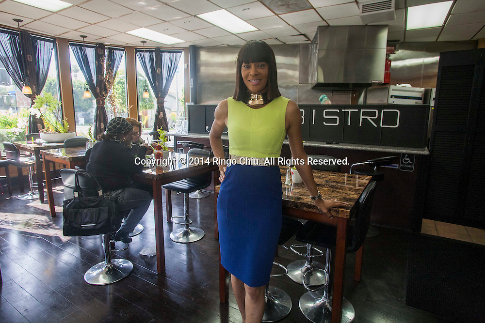 Loretta Jones, owner of JJ's Bistro in Inglewood. (Photo by Ringo Chiu/PHOTOFORMULA.com)