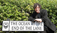 """AUG 18 2013 Neil Gaiman author of """"The Ocean At The End of the Lane"""""""