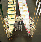 20031213 Boat Race 150th year Replica Boats, Richmond. GREAT BRITAIN