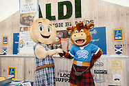 Royal Highland Show 2015, Royal Highland Centre, Ingliston, Edinburgh.<br /> <br /> Aldi &amp; Browning the Bakers unveil the largest ever Killie Pie at the Royal Highland Show.<br /> <br /> info@craig-stephen.co.uk<br /> Tel: 07905 483532.