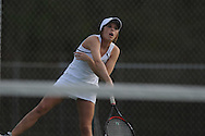 Lafayette's Mallory Davis vs. Mooreville in tennis action at Ole Miss in Oxford, Miss. on Wednesday, March 23, 2011.