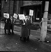1961 - Blind Workers Strike.  B950.