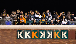 Strikeout signs on AT&T right field wall, 2013.