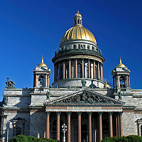 Europe, Russia, St. Petersburg. St. Isaac's Cathedral.