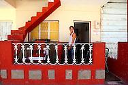Barbershop in Alquizar, Artemisa, Cuba.