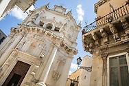 A view of S. Matteo Church, Lecce Province, Puglia, Italy.