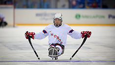 ICE-SLED HOCKEY - SOCHI 2014 WINTER PARALYMPICS PHOTOS
