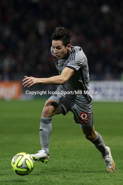 Florian THAUVIN - 23.01.2015 - Nice / Marseille - 22eme journee de Ligue 1<br />Photo : Jean Christophe Magnenet / Icon Sport