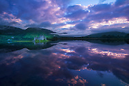 Europe, United Kingdom, UK, Scotland, Argyll, Loch Awe, Kilchurn Castle, (m)