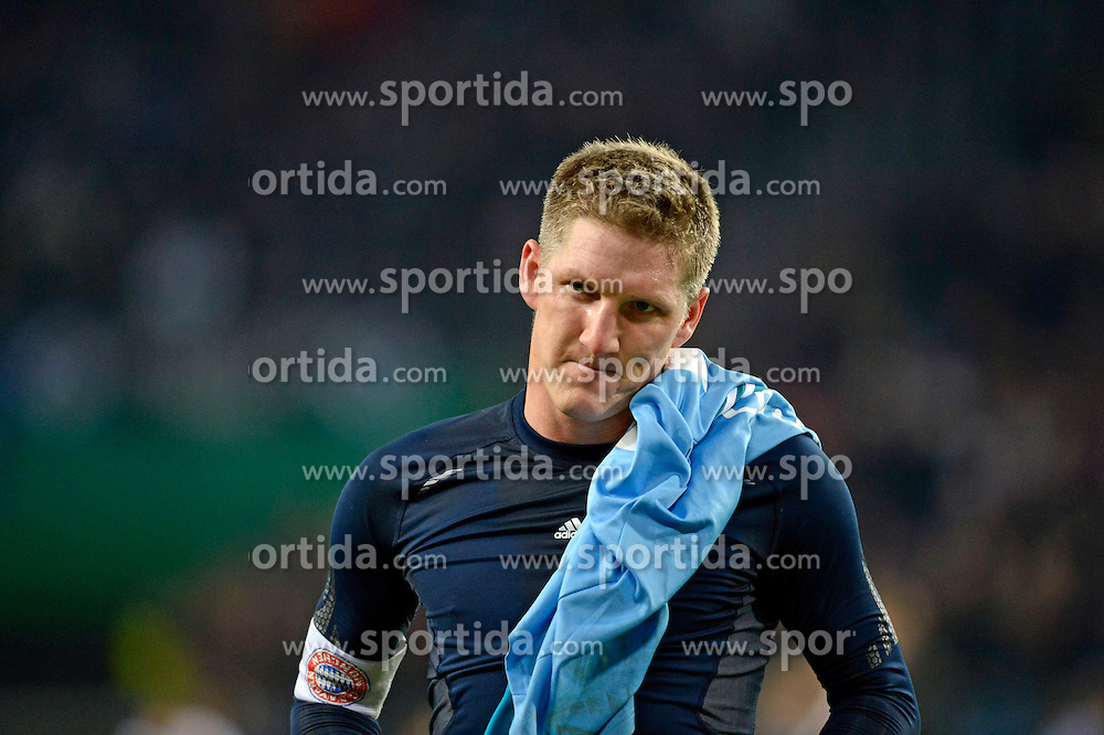 Football: Germany, DFB-Pokal, Hamburger SV - FC Bayern Muenchen, Muenchen, 12.02.2014<br /> Bastian Schweinsteiger (Bayern)<br /> &Atilde;ƒ&Acirc;'&Atilde;'&Acirc;&copy;&Atilde;ƒ&Acirc;'&Atilde;'&Acirc;&nbsp;pixathlon