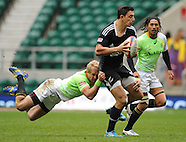 London 7's Day 2 Cup QF South Africa v New Zealand