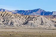 The rugged terrain of the Book Cliffs region of eastern Utah.