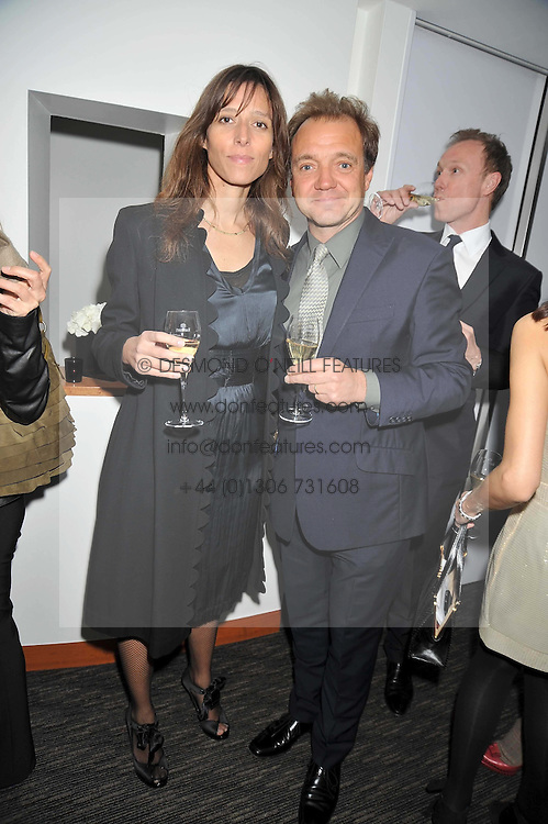 GUY & GALA PRATT he is the musician and she is the daughter of the late Pink Floyd keyboardist Richard Wright at a dinner hosted by Ruinart Champagne for Yasmin Mills at Nobu, Park Lane, London on rth May 2009.