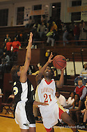 Lafayette High vs. Amory in girls basketball playoff action at New Albany, Miss. on Friday, February 19, 2010.