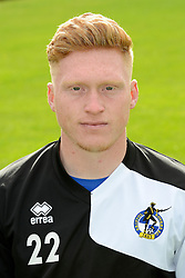 Kieran Preston of Bristol Rovers - Mandatory byline: Dougie Allward/JMP - 07966386802 - 03/08/2015 - FOOTBALL - Bristol Rovers Training Ground -Bristol,England - Bristol Rovers Headshots