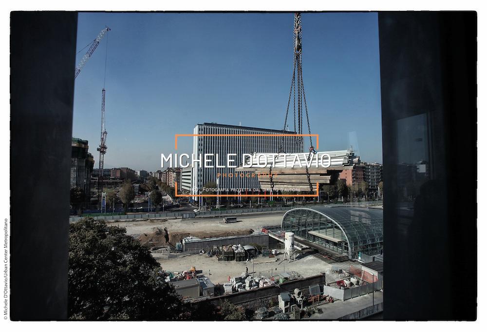 Visita guidata al cantiere Residenza Matteotti 61, .Progetto: Negozio Blu Architetti Associati, P 167 Architetti Associati  Impresa: Impresarosso