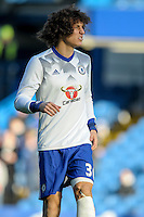 David Luiz of Chelsea during the Premier League match between Chelsea and West Bromwich Albion at Stamford Bridge, London, England on 11 December 2016. Photo by Salvio Calabrese.