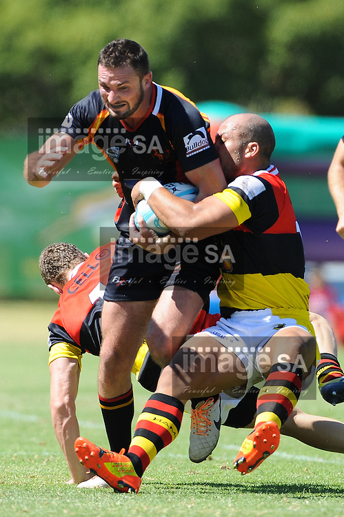 CAPE TOWN, SOUTH AFRICA - Saturday 28 February 2015, Clayton Kelly of Vaseline Wanderers during the second round match of the Cell C Community Cup between Hamiltons and Vaseline Wanderers at the Stephan Oval, Green Point.<br /> Photo by Roger Sedres/ImageSA/SARU