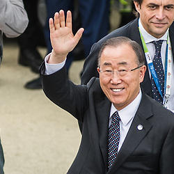 Foto Piero Cruciatti / LaPresse<br /> 16-10-2015 Milano, Italia<br /> Attualit&agrave; <br /> Ban Ki-Moon visita Expo Milano 2015<br /> Nella Foto: Ban Ki-Moon<br /> Photo Piero Cruciatti / LaPresse<br /> 16-10-2015 Milan, Italy<br /> Italian News<br /> Ban Ki-Moon visits Expo Milano 2015<br /> In the Photo: Ban Ki-Moon