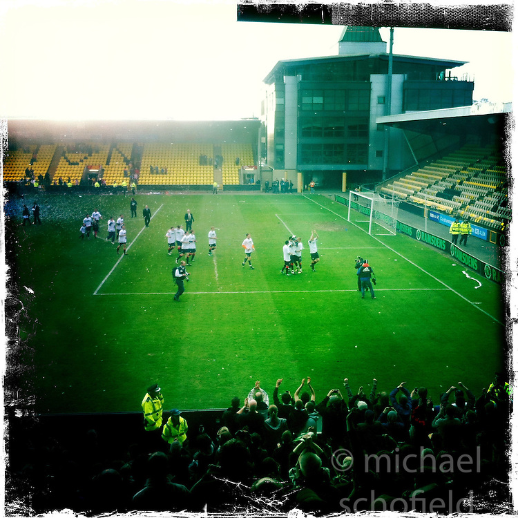 Livingston stadium..Hipstamatic images taken on an Apple iPhone..©Michael Schofield.