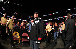 East Rutherford, NJ - May 05, 2012: Nate Diaz walks to the octagon during UFC on FOX 3 at the Izod Center in East Rutherford, New Jersey.