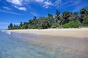 Beach at Nilaveli. East Coast of the island.