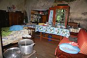 Armenia, Tavush Province, Gosh a local village Interior of a home