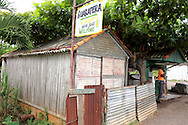 Guarapera stand in Pons, Pinar del Rio, Cuba.