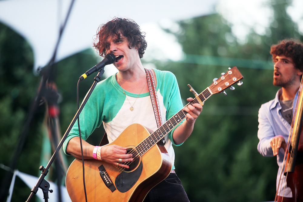 Langhorne Slim. Pickathon 2010. Photographed by Thomas Patterson.