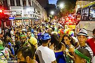 Rio de Janeiro, Lapa, street carnival, Brazil