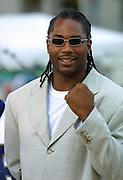 Lenex Lewis arrives at The Source Hip-Hop Music Awards 2001 at the Jackie Gleason Theater in Miami Beach, Florida.  8/20/01  Photo by Craig Ambrosio/ImageDirect