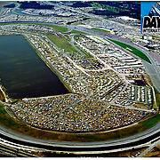 Aerial views of Daytona international Raceway, Florida