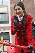 25 November 2010- New York, NY- Victoria Justice at The Macy's 84th Annual Thanksgiving Day Parade held along Central Park West on the UpperWest Side of New York City on November 25, 2010 in New York City.Photo Credit: Terrence Jennings