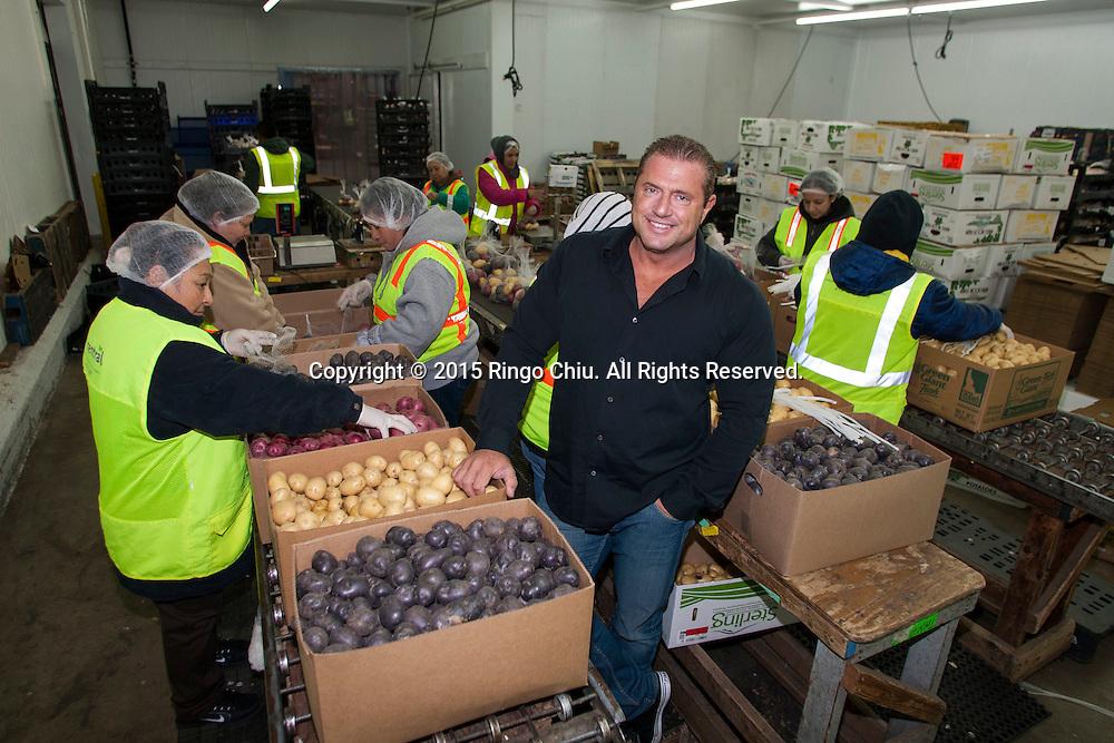 Michael Dodo, chief executive of West Central Food Service.(Photo by Ringo Chiu/PHOTOFORMULA.com)