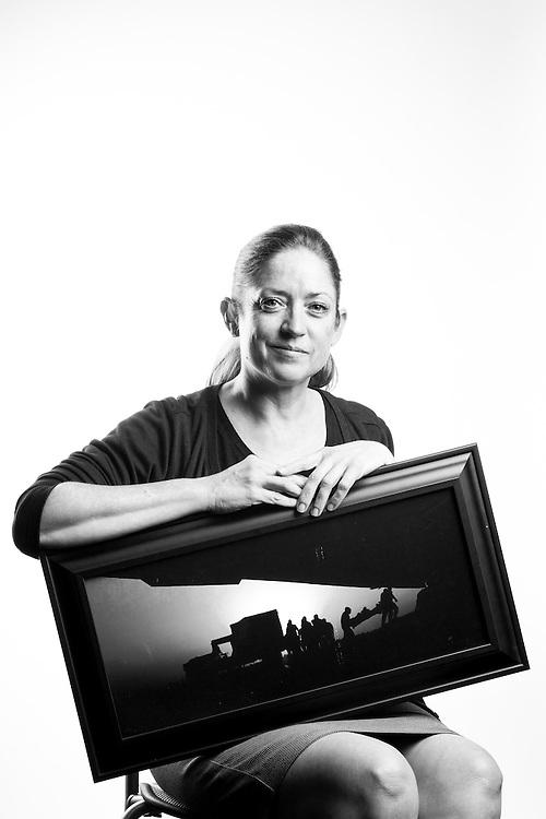 Beverly Groogan<br /> Air Force<br /> O-4<br /> Flight Nurse<br /> 1993 - 2014<br /> OIF<br /> <br /> Veterans Portrait Project<br /> Clarksville, TN