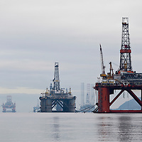 Cromarty Firth Oil rigs