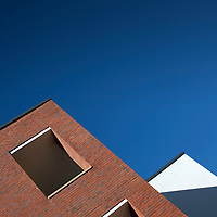 architecture, buildings, brick, render, hospital, Gloucester