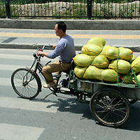 Asia, China, Shaanxi, Xian. Chinese transportation.