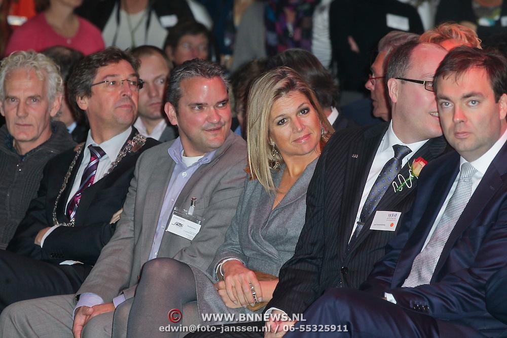 NLD/Utrecht/20111025- H.K.H. Prinses Maxima opent 4 x 4 Slinger Event