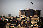 Baghdad at dusk August 26, 2010.   .
