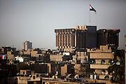 Baghdad at dusk August 26, 2010.   .