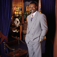 Walter Payton, late of the Chicago Bears, and Pro Football Hall of Fame member.  Chicago photography by Wayne Cable.