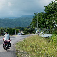 Bike touring through Costa Rica