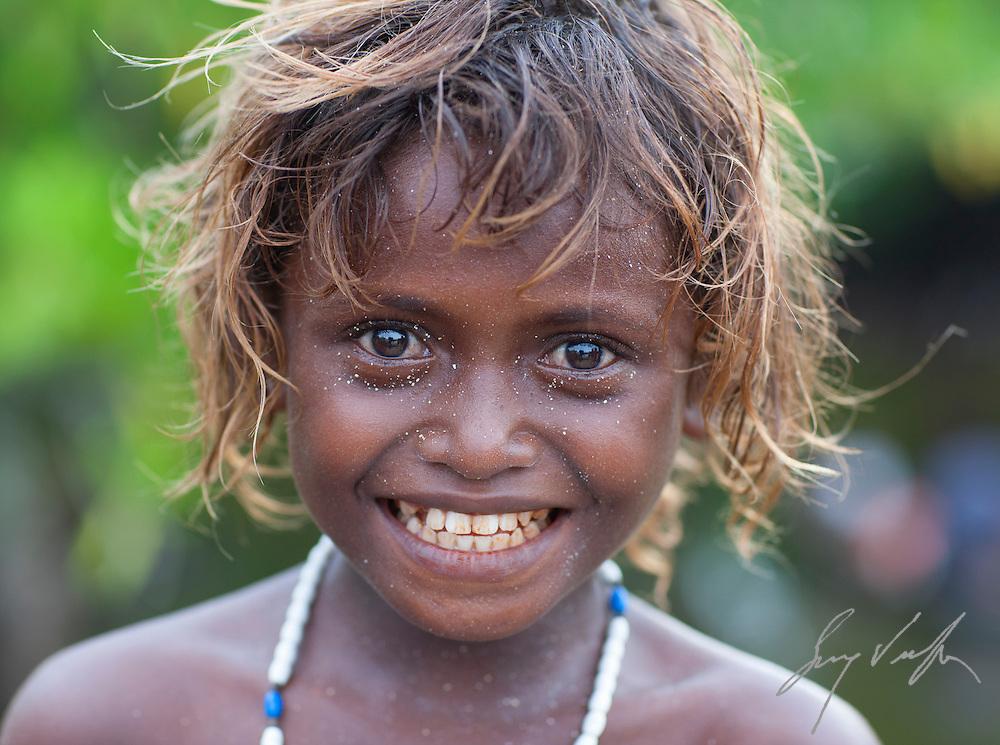 Blond Haired Melanesian Girl Sunewendelboe Com